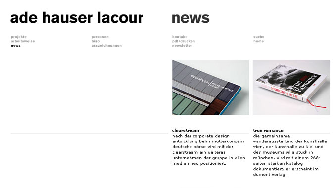 ade hauser lacour corporate website