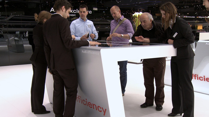Audi Efficiency Exhibit