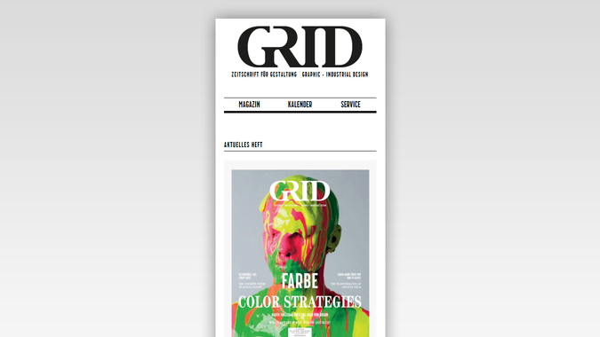 Meso Grid Magazin Website