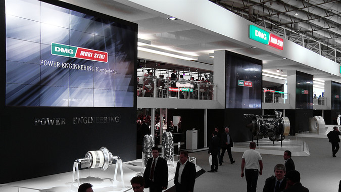 MESO - DMG / MORI SEIKI Brand Exhibits at EMO 2013