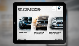 BWM EfficientDynamics App 2014
